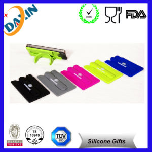 Top Sale Popular Style Silicone Cell Phone Credit Card Holder for Playing pictures & photos