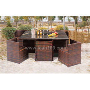 Garden Aluminum Dining Set (DS-06033) pictures & photos