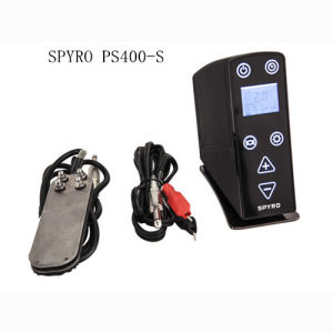 Pedal Type LED Tattoo Power Supply with Clip Cord for Tattoo Machine pictures & photos