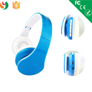 Latest Foldable Bluetooth Headphones Adjustable Headband Wireless Headset pictures & photos