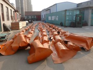 Oil Spill Fire Resistant Inflatable Rubber Oil Boom pictures & photos