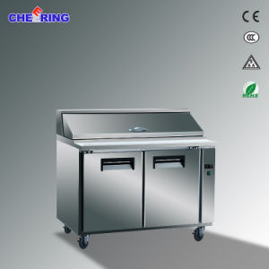 Cheering Commercial Stainless Steel Pizza Worktable Pre Work Table Chiller Freezer Refrigerator pictures & photos