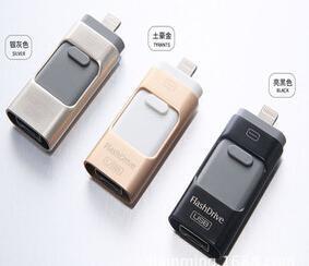 OTG for iPhone 6s /Samsung S6 Phones Flash Driver, USB Flash Memory OTG