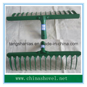 Railway Steel Rake Head Garden Rake pictures & photos