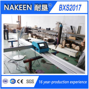 Small CNC Plasma Flame Steel Cutting Machine From Nakeen pictures & photos