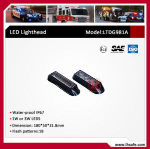 LED Visor Grille Warning Light (LTDG982A) pictures & photos