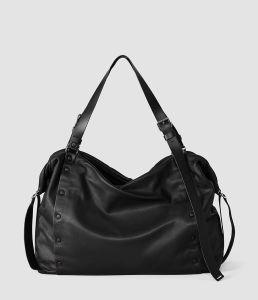 Trendy Leather Bag Darling Bowling Bag (YW396-01A)