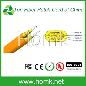 Indoor Fiber Cable (Flat Twin GJFJV) pictures & photos