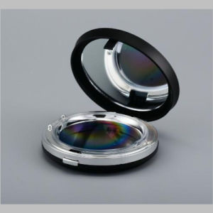 Cosmetic Round Empty Compact Powder Cases pictures & photos