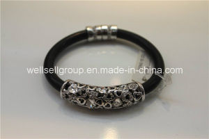 Charms Fashion Leather Jewelry Bracelet for Gift pictures & photos