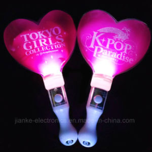 Heart Shape LED Flashing Stick with Logo Printed (4015) pictures & photos