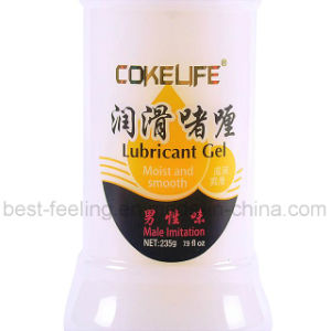 Clear Plastic Tube Packaging for Personal Lubricant