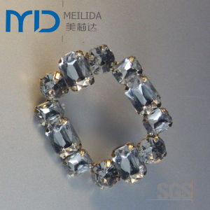 Fashion Popular Shoe Buckle with Rhinestone and Acrylic for Women pictures & photos