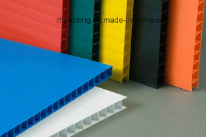 Eco-Friendly 4X8 Plastic Correx Sheet for Signage or Protection Manufacturer pictures & photos
