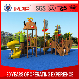 2017 New Mould Factory Kids Exercise Outdoor/Indoor Playground Slide Equipment Amusement Park Wooden Series HD16-168b pictures & photos
