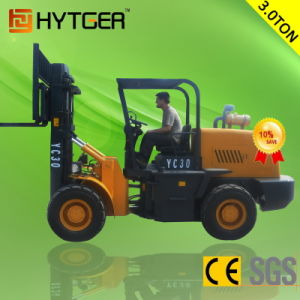 1.5-3.5t Mini Electric Rough Terrain Forklift Truck (FD15-FD35) pictures & photos