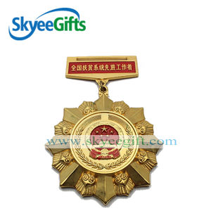 Wholesale Custom Make Medal Badge Producer pictures & photos
