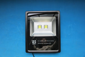 Epistar/Brigelux COB Waterproof Outdoor LED Flood Light 100W (SLFH COB 100W) pictures & photos