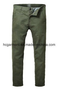 Walking Cargo Colorful Chino Soft Cotton Casual Silm Pants for Man pictures & photos