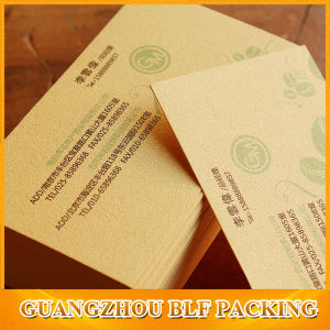 Brown Custom Business Cards (BLF-F108) pictures & photos