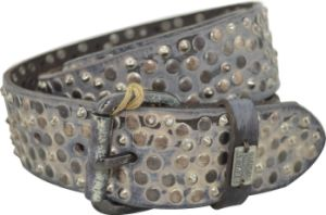 Gold & Silver Stud Fashion Genuine Leather Belt pictures & photos