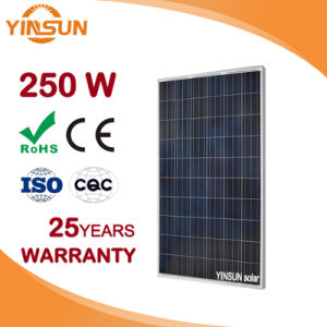 250W Poly Photovoltaic Solar Panel for Solar System pictures & photos
