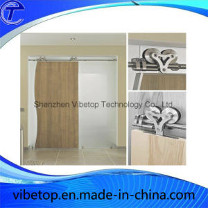 Wooden Glass Barn Door Track System Sliding Fitting Kits pictures & photos