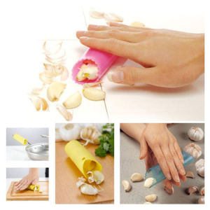 Cheap and Easy Silicone Garlic Peeler pictures & photos