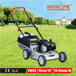 Richope High Efficiency Gasoline Lawn Mower with Straight Metal Blade pictures & photos
