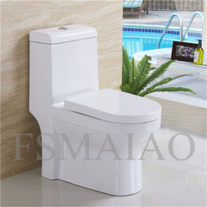 Ceramic Sanitary Wares Siphonic One Piece Toilet (8102) pictures & photos