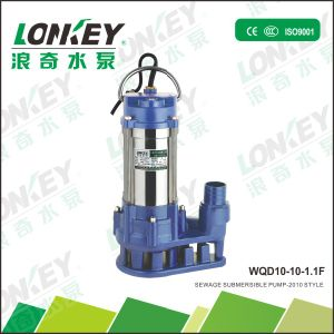 Wqd Sewage Pump Water Pump Design pictures & photos