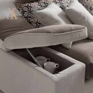 Modern Fabric Sofa Set with Storing Space (1612) pictures & photos