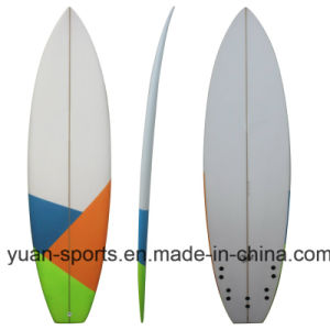High Quality Popular PU Blank Surfboard, Epoxy Short Board pictures & photos