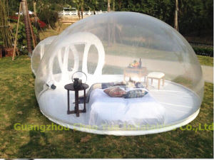 Outdoor Transparent Inflatable Tent, Inflatable Bubble Tent with Blower (CY-M2749) pictures & photos