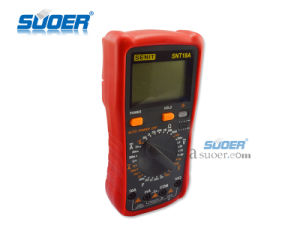 Professional and Scientific Digital Multimeter Suoer (SNT18A) pictures & photos