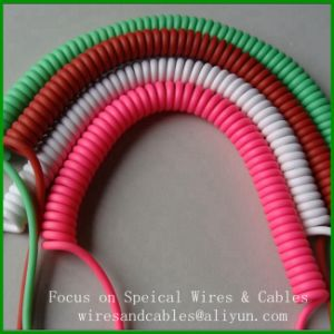 Spring Wire Spiral Cable for Moving Instrument and Equipment pictures & photos
