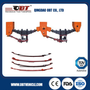 Semi Trailer/Truck Suspension with Leaf Spring pictures & photos