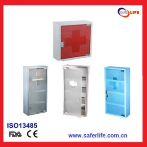 2015 Compartment Wall Container Label Metal Layer Metal First Aid Box Bathroom Metal Medicine Box Medication Lock Box pictures & photos