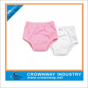 Cotton Comfortable Soft Plain Underwear for Girl pictures & photos
