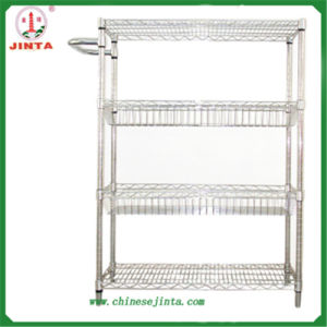 Jinta Chrome Plated Small Wire Shelf (JT-F08) pictures & photos