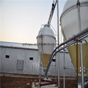 Full Set Fully Automatic Poultry Farm Machinery and Prefab Steel Structure Poultry House pictures & photos