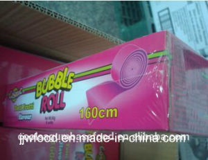 160cm Super Long Tutti Frutti Flavour Bubble Roll Gum pictures & photos