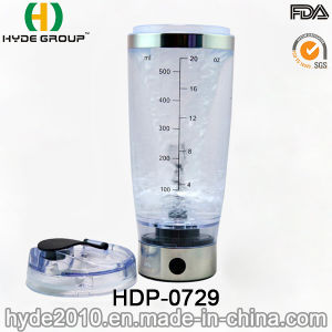600ml Customized Plastic Vortex Protein Shaker Bottle, BPA Free Plastic Electric Protein Shaker Bottle (HDP-0729) pictures & photos