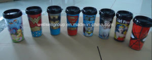 Promotional Double Wall Travel Coffee Mug (CPBZ-4105) pictures & photos