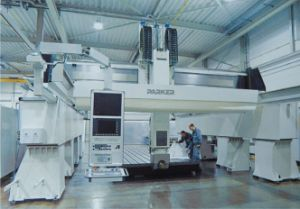 Parker Aluminium Five Axis Machining Center pictures & photos
