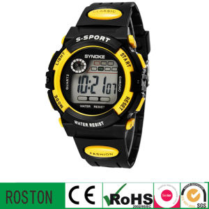 Digital LED Sport Watch for Christmas Promotion Gift pictures & photos
