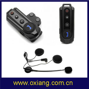 1000m Waterproof Handsfree Interphone Motorcycle Wireless Bluetooth Intercom with FM pictures & photos
