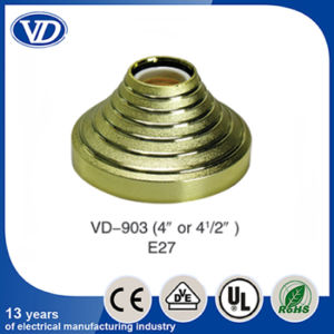 E27 Plastic Ceiling Rose Lamp Holder Vd903