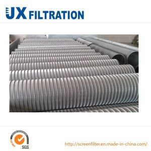 Reflex Rolled Wedge Wire Screen pictures & photos