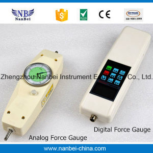 Easy Operated High Precision Push Pull Analog Force Gauge pictures & photos
